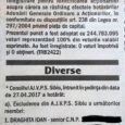 """Pescarii și vânătorii sibieni s-au trezit cu CNP-urile în presă, la rubrica de anunțuri """"Diverse"""". """"E o încălcare gravă a legii!"""" Asociația Județeană a Vânătorilor și Pescarilor Sportivi Sibiu a […]"""