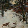 Noapte mută şi adâncă, Rătăcită prin nămeţi, Umbrele şi le mănâncă Între lupii hrăpăreţi. Singuratică şi rece Precum iarna ce-a venit Cearcă brazii să-i aplece Sub omătul troienit. Vreme de […]