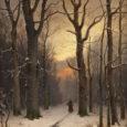 Deschide largă cale iernii Decembrie cu fulgi enormi, De parcă ar fi dat cep pernei Pe care, la căldură, dormi. Alb risipeşte împrejur, Imaculat şi fin pavoaz, Schiţând pădurilor contur […]